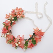 Moon in Aquarius Crown Bougainvillea Flower Crown